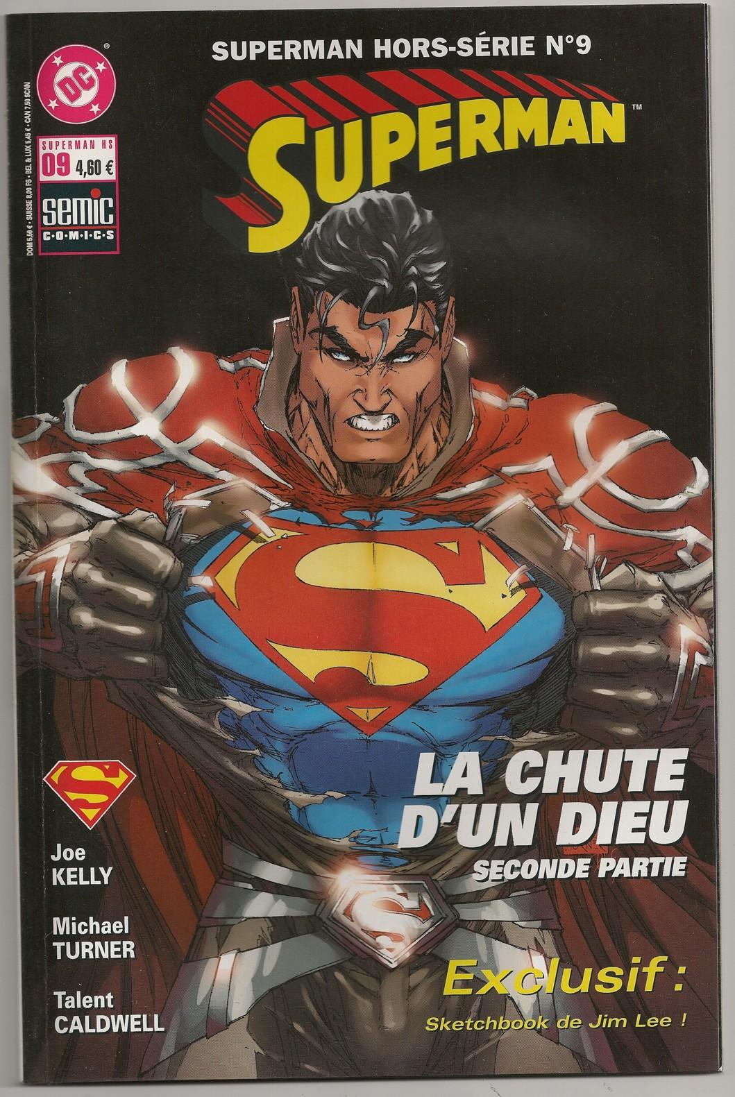Superman Hors-Série 9 - La chute d'un dieu,deuxième partie
