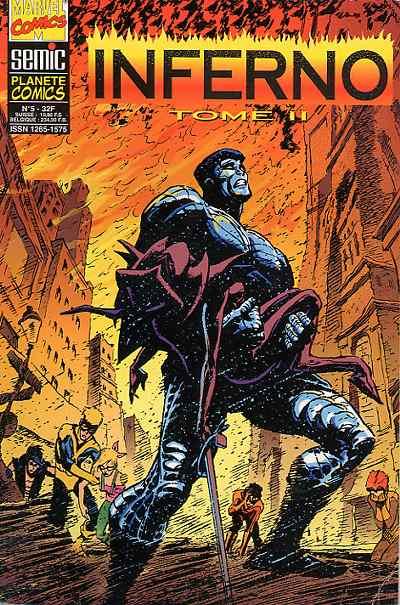 Planète Comics 5 - Inferno Tome 2