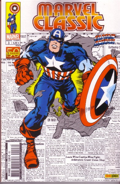 Marvel Classic 3 - Captain America