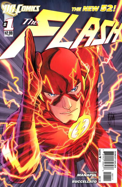 Flash 1 - 1 - cover #1