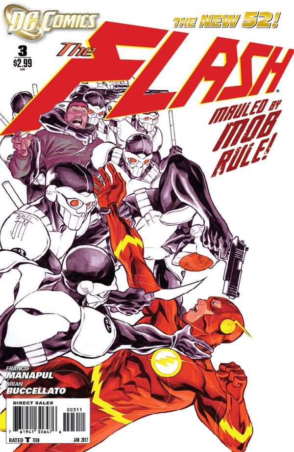 Flash 3 - 3 - cover #1
