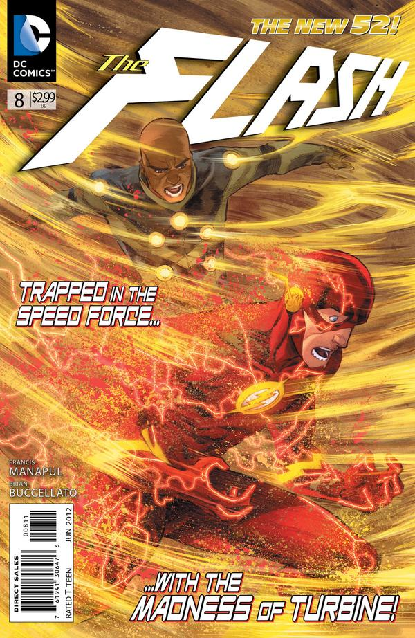 Flash 8 - 8 - cover #1