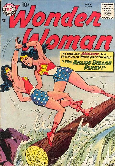 Wonder Woman 98 - The Million Dollar Penny