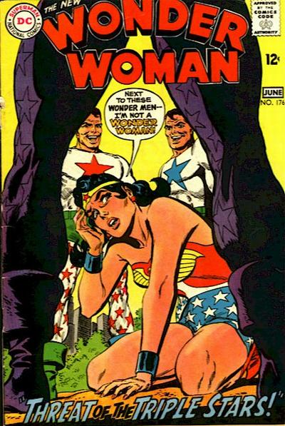 Wonder Woman 176 - Threat of the Triple Stars!