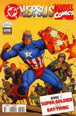 DC Versus Marvel 13 - Super-Soldier & Bat-Thing