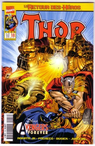Le retour des héros - Thor 18 - Alerte aux talismans vivants !