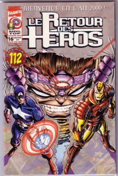 Marvel Top 16 - Le Retour des Héros