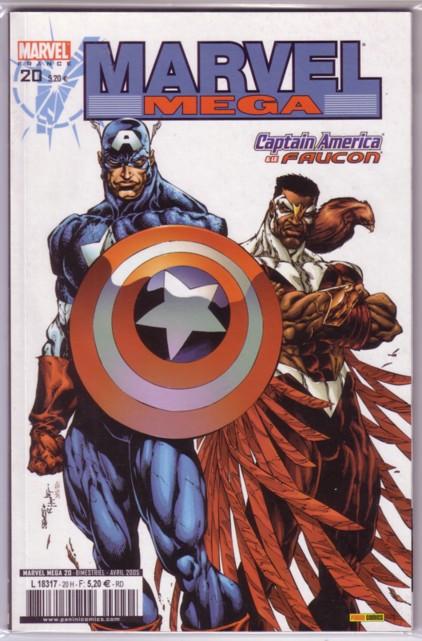 Marvel Mega 20 - Captain America et le Faucon