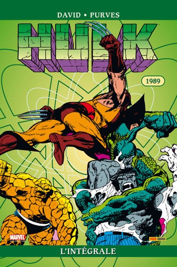 Hulk 1989 - L'intégrale 1989