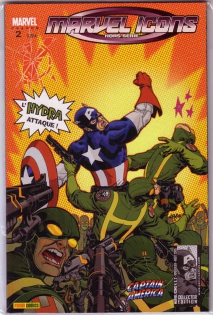 Marvel Icons Hors Série 2 - Captain America: L'Hydra Attaque !