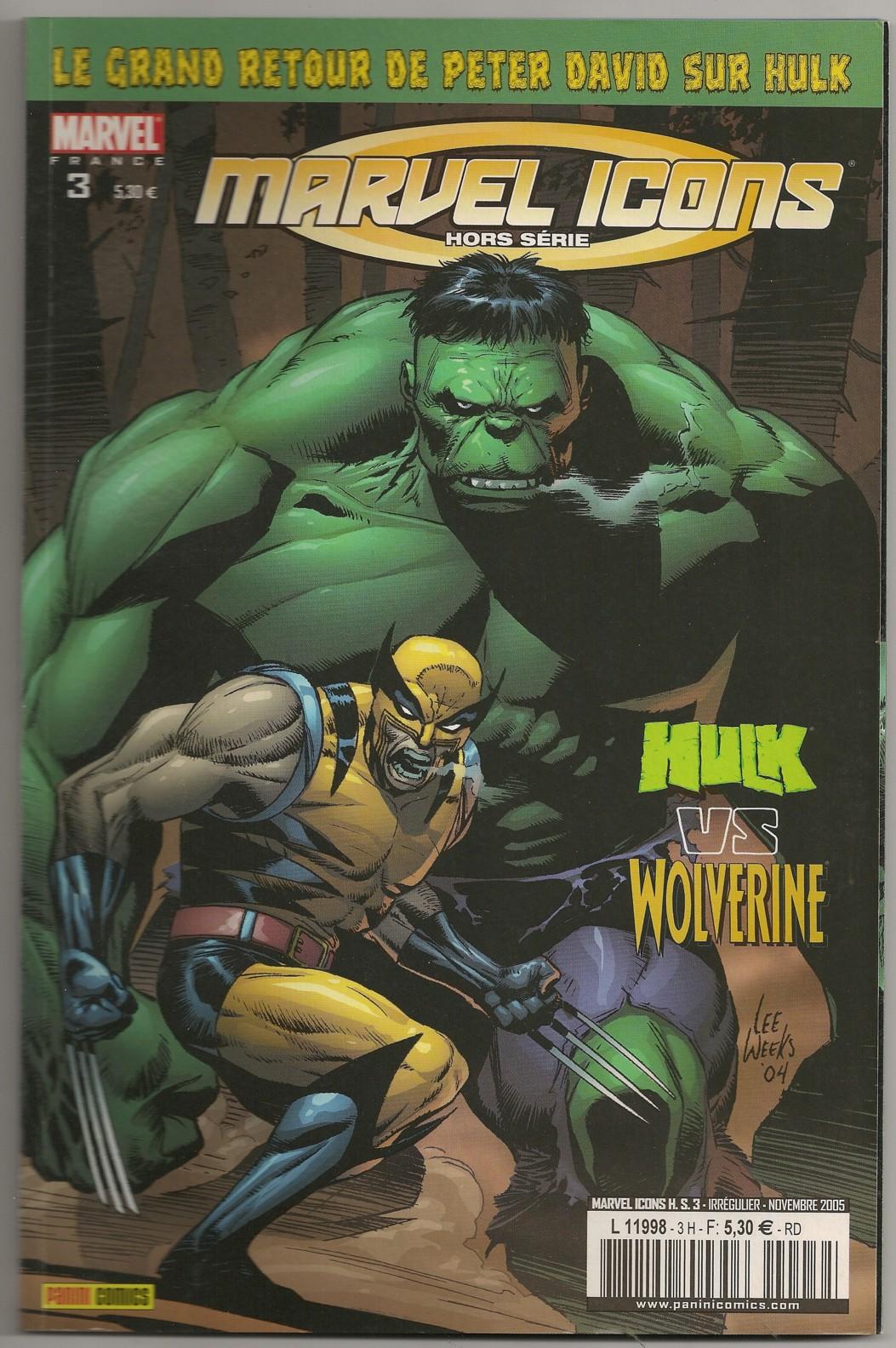 Marvel Icons Hors Série 3 - Hulk Vs Wolverine