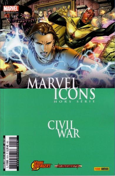 Marvel Icons Hors Série 10 - Civil War