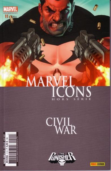 Marvel Icons Hors Série 11 - Civil War : Punisher