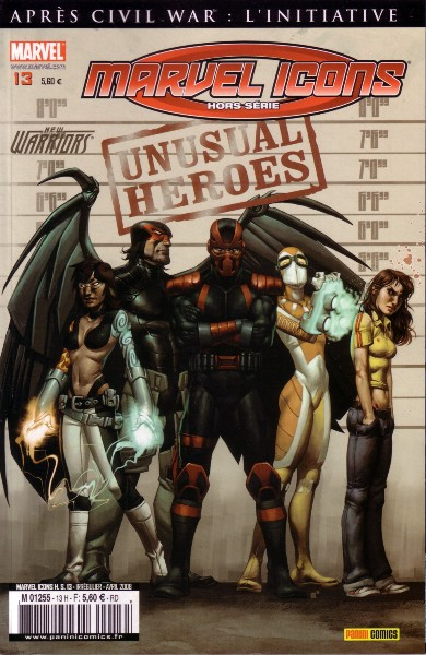Marvel Icons Hors Série 13 - New Warriors - Unusual Heroes
