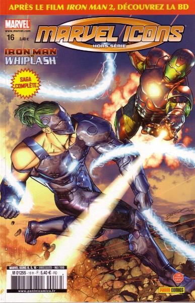 Marvel Icons Hors Série 16 - Iron Man vs Whiplash