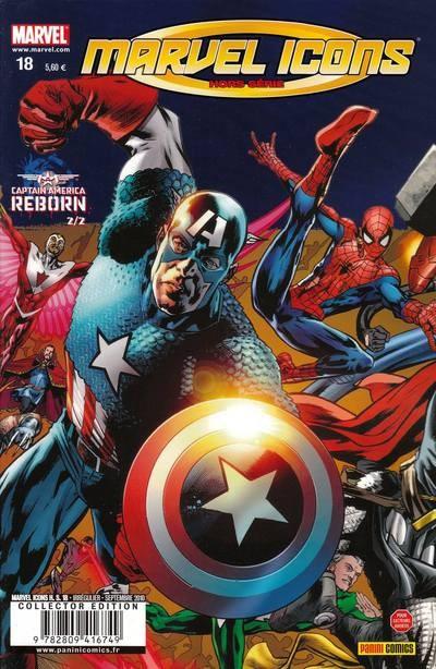 Marvel Icons Hors Série 18 - Captain America : Reborn 2/2
