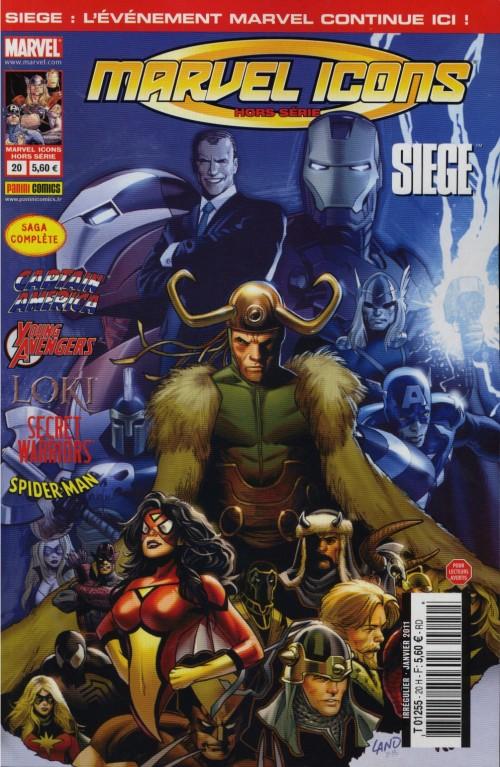 Marvel Icons Hors Série 20 - Siege