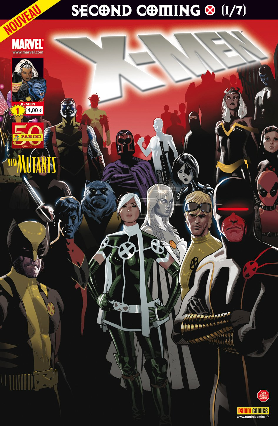 X-Men 1 - Le retour du messie (1/7)
