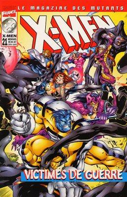 X-Men 21 - victimes de guerre
