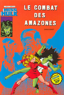 Miss Hulk 4 - Le combat des amazones
