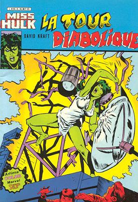 Miss Hulk 6 - La tour diabolique