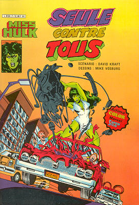 Miss Hulk 7 - Seule contre tous