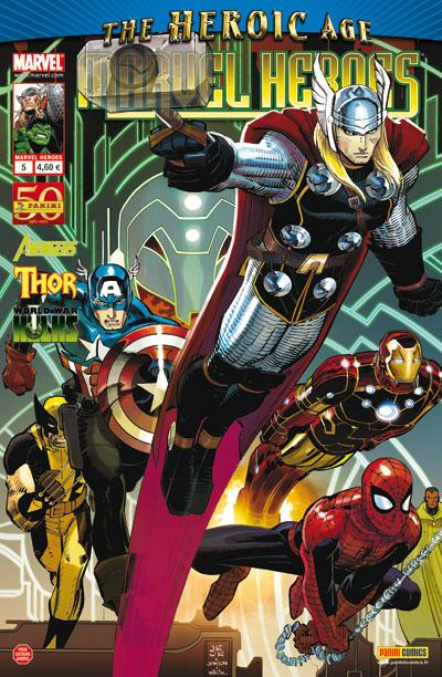 Marvel Heroes 5 - 5