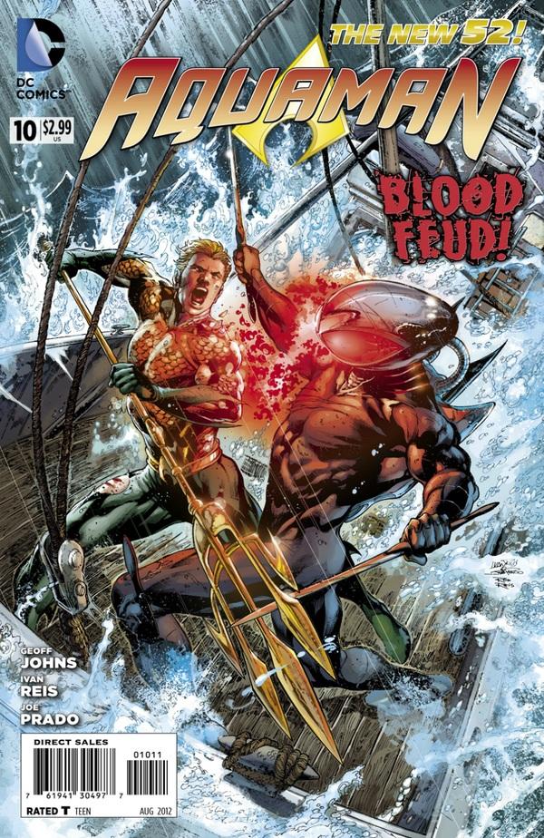 Aquaman 10 - Blood Feud - cover #1