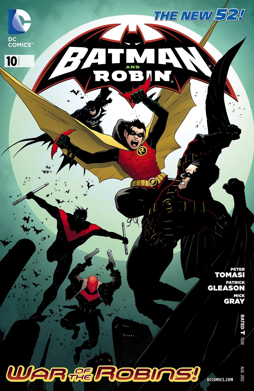 Batman & Robin 10 - Batman and Robin - War of the Robins