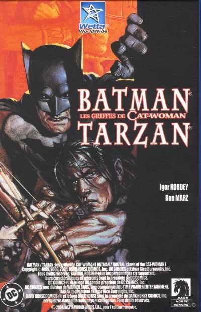 Batman / Tarzan 1 - Les griffes de Catwoman
