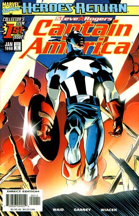 Captain America 1 - The Return Of Steve Rogers