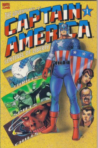 The adventures of Captain America - Sentinel of liberty 1 - First flight of the eagle