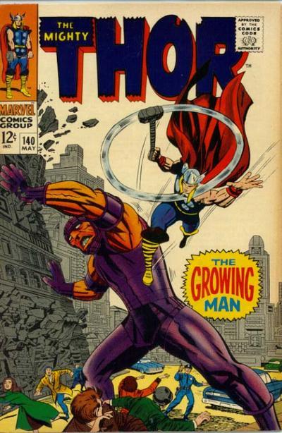 Thor 140 - The Growing Man