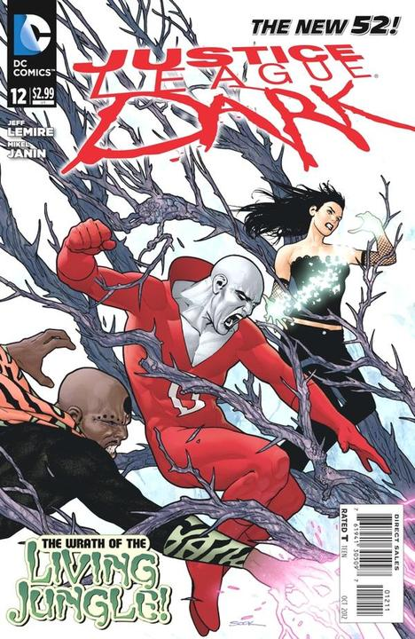 Justice League Dark 12 - War for the Books of Magic Part 1