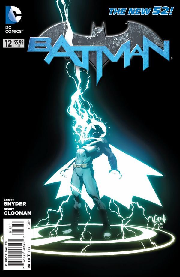 Batman 12 - 12 - cover #1