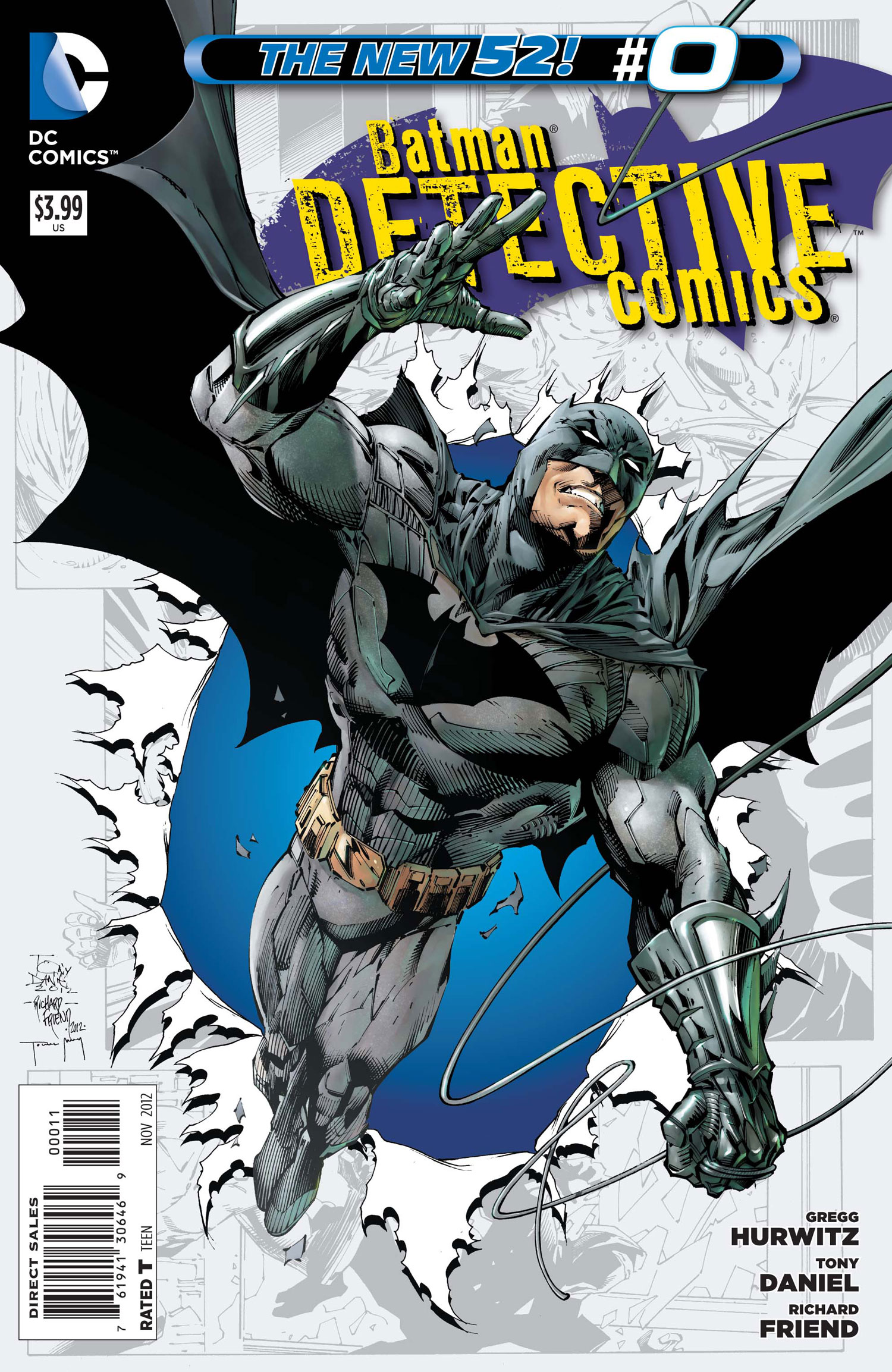 Batman - Detective Comics 0