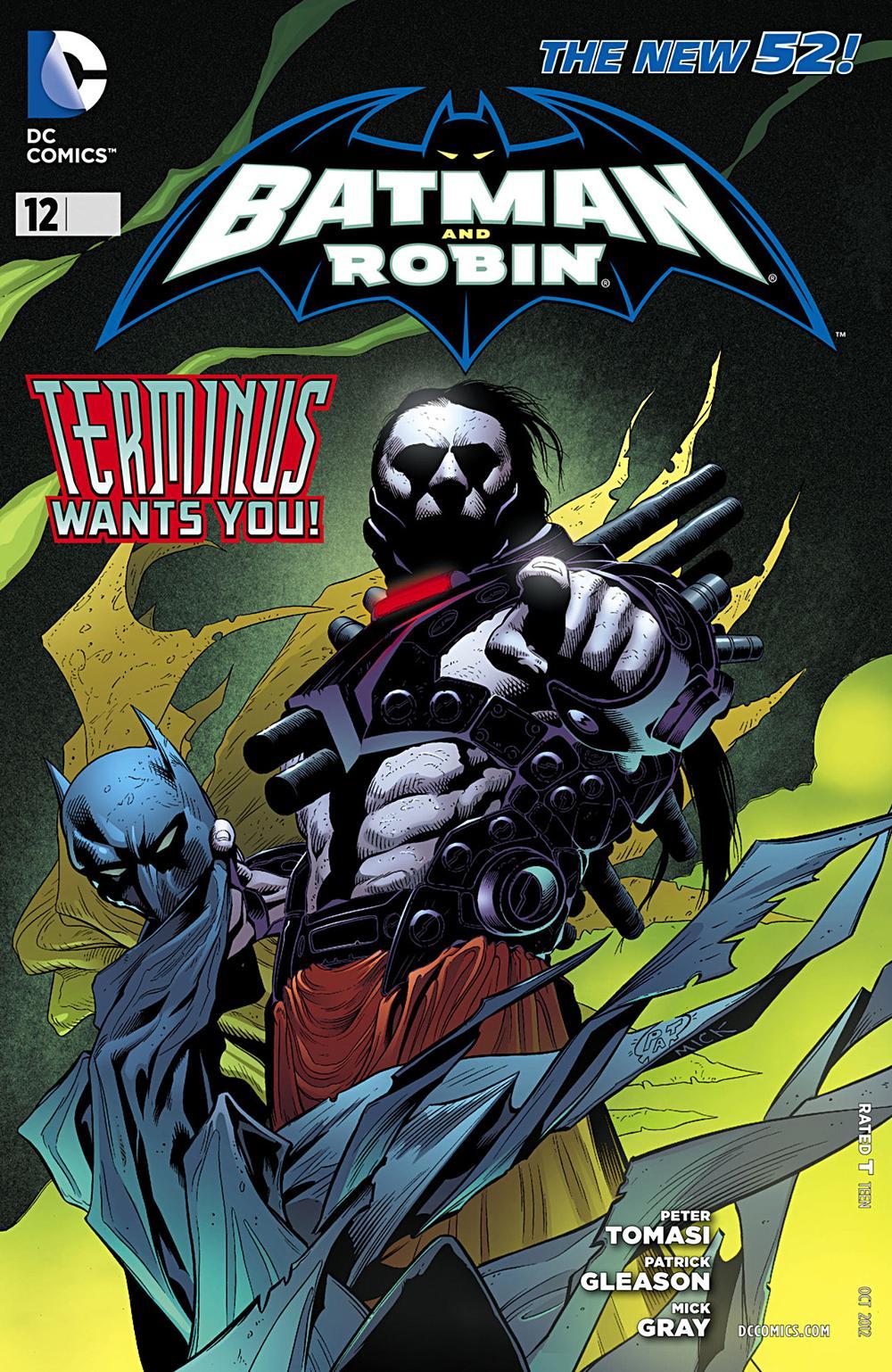 Batman & Robin 12 - Batman and Robin - Terminus Wants You