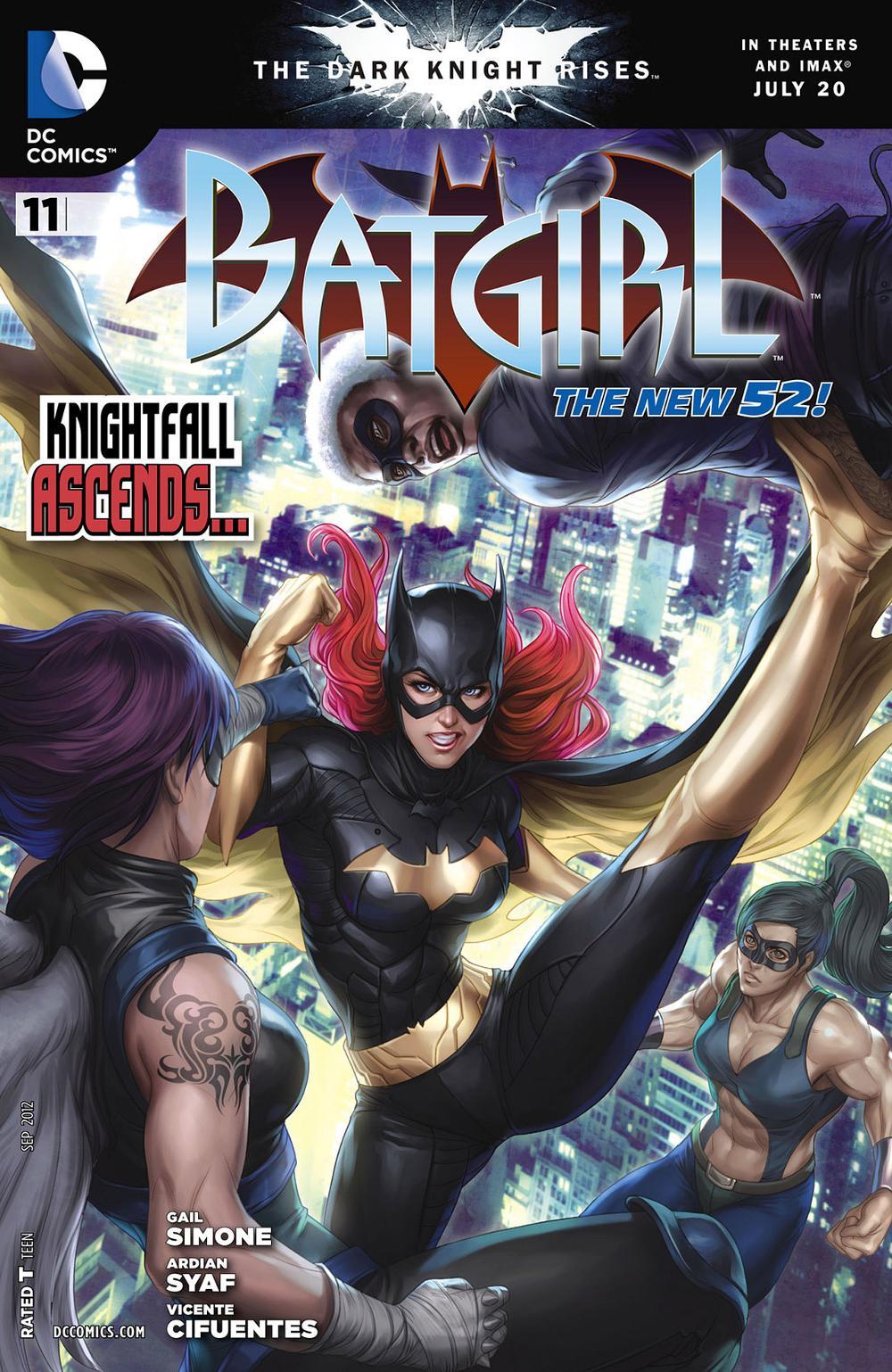 Batgirl 11 - Heart of Cold Steel