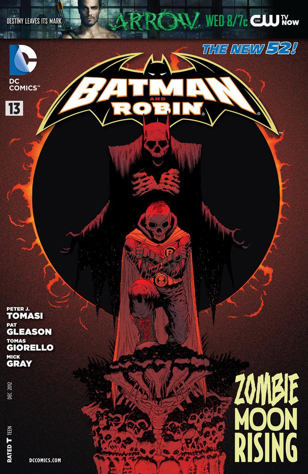Batman & Robin 13 - Batman and Robin - Zombie Moonrising