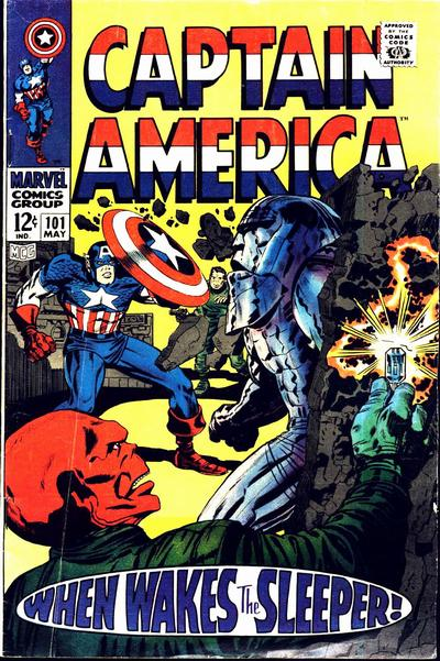 Captain America 101 - When Wakes the Sleeper!