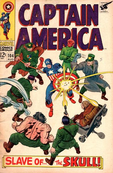 Captain America 104 - Slave of the Skull!