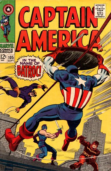Captain America 105 - In The Name of Batroc!