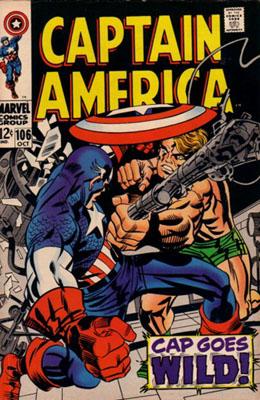 Captain America 106 - Cap Goes Wild!