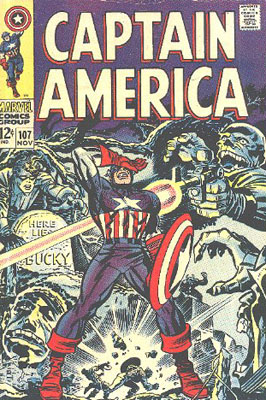 Captain America 107 - If the Past Be Not Dead--