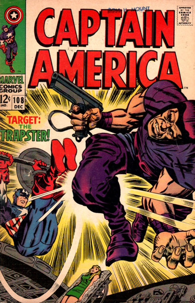 Captain America 108 - The Snares of the Trapster!