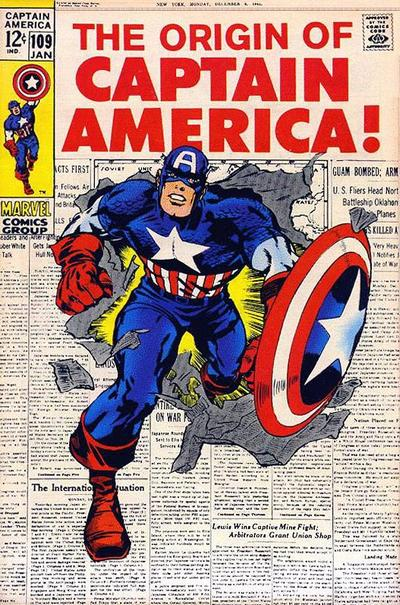 Captain America 109 - The Hero That Was!