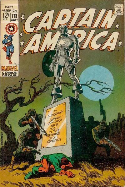 Captain America 113 - The Strange Death of Captain America