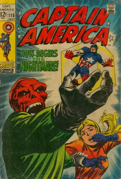 Captain America 115 - Now Begins the Nightmare!