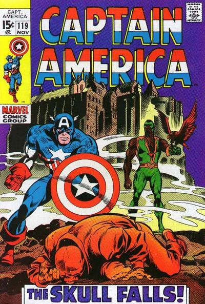 Captain America 119 - Now Falls the Skull!