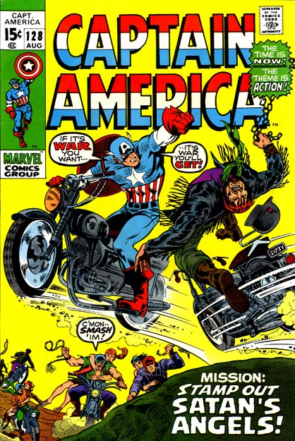 Captain America 128 - Misson: Stamp Out Satan's Angels!